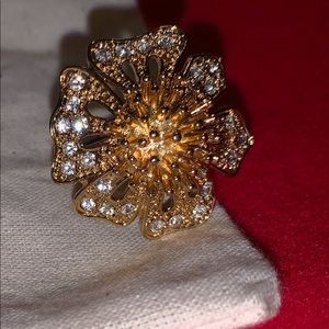 J.Crew flower ring